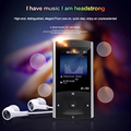 AY T91 Aluminum Shell Touch Screen HiFi Lossless MP3 Music Player Built in Speaker 8GB Memory