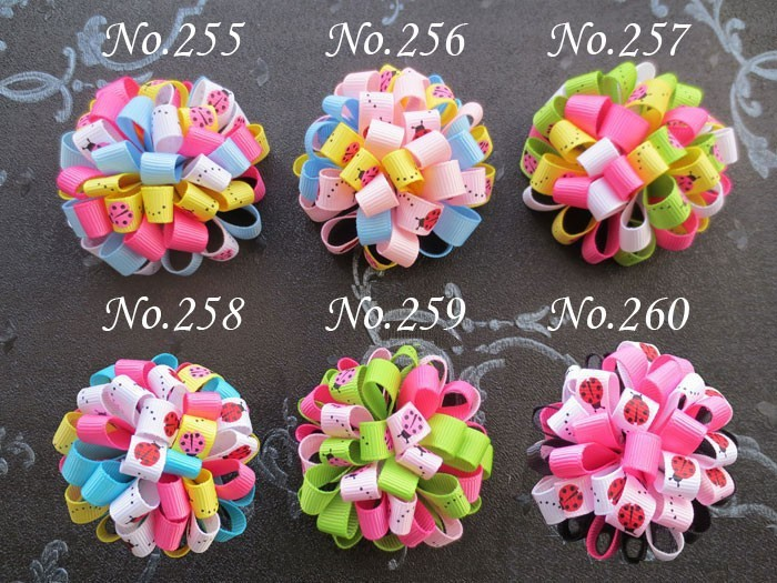 Free Shipping 100PCS Loopy puffs Ribbon 2.5 2015 New Lady Girl Cute Sweet Big Bowknot Ribbon Hair Accessories Headband BowОдежда и ак�е��уары<br><br><br>Aliexpress