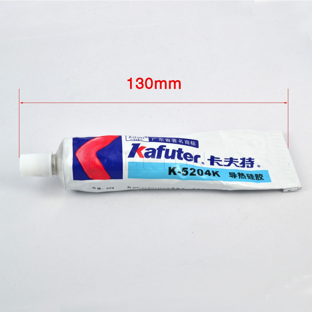 2015 New arrive 80g Kafuter K-5204K High Thermal Conductive Paste/Silicone Adhesive Glue Conductive epoxy for CPU(China (Mainland))