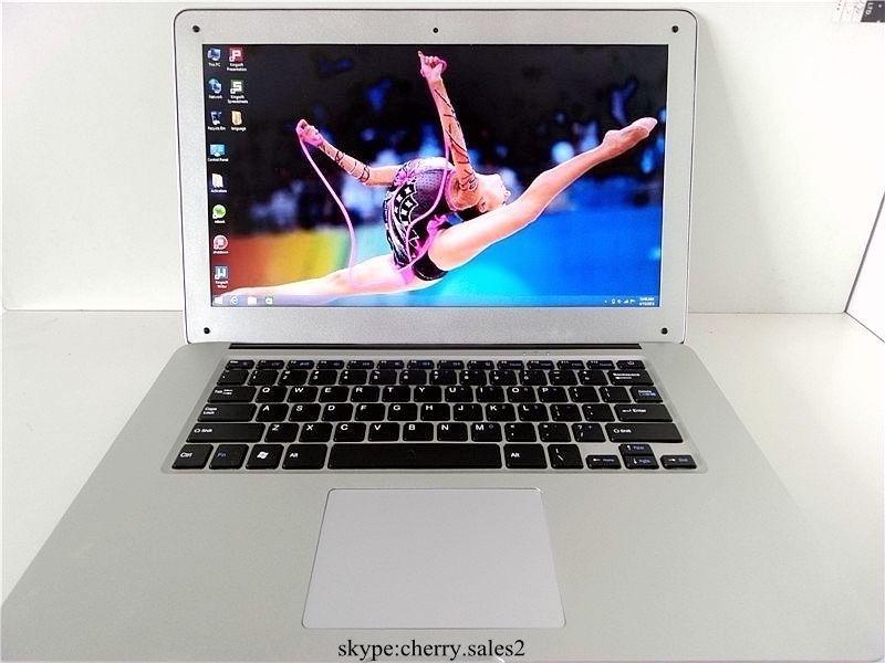 Бесплатная доставка 14 дюймов windows8 портативный компьютер PC Intel Celeron J1800 2.41 ГГц двухъядерный 4 ГБ RAM 500 ГБ HDD WIFI тонкий Ultrabook