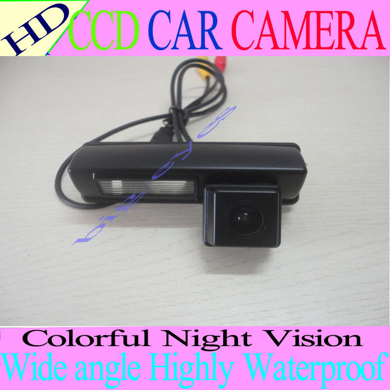 CCD Car Reverse Camera for Toyota camry 2007-2012 Classic(EU) Harrier Ipsum Avensis Auto Backup Rear View Park kit Free shipping(China (Mainland))