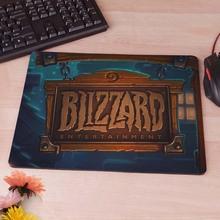 HearthStone Start Screen Blizzard Logo Picture Anti-Slip Laptop Rubber Mice Pad Mat Mousepad(China (Mainland))