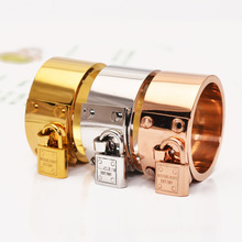 Famous Brand Jewelry Rose Gold Silver Stainless Steel Ring / Rings For Women(China (Mainland))