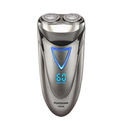 Free Shipping Washable Rechargeable global voltage100-240V Pole head Electric Shaver Have shears Men's Facial fs858(China (Mainland))