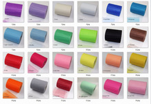 100yard Tissue Tulle Paper Roll Spool Craft christmas Wedding decoration child kids Birthday table centerpiece party supplies(China (Mainland))