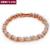 Top Quality Roman Verve  Rose/White Gold Plated Bracelet Jewelry  Austrian Crystal Wholesale ZYH039 ZYH040