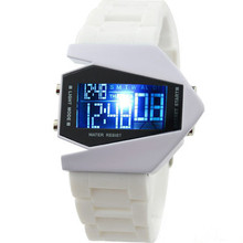 2015 New Fashion Designer Novelty LED Display Digital Mens Women Sports Military Oversized Watch Wristwatches 56HJ