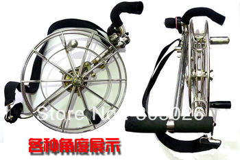 free shipping high quality 30cm stainess steel fly reel china with brake easy control steel kite reel aquariums for sale toys
