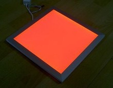Free Shipping RGB Color Adjustable and Dimmable LED Panel Light 300x300mm with Wireless Remote Control Aluminum +PMMA Material (China (Mainland))