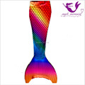 Myle Factory unique design Direct Sale Lycra Full Scale Swimmable Mermaid Tail W Monofin Dress Costume