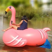 Жаркое лето бассейн игрушки гигант Inflable фламинго воды поплавок для взрослых 1.9 м 75 дюймов ездить на бассейн игрушки-надувные плавать кольцо
