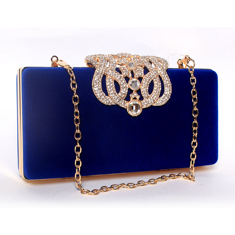2016 Diamond Crystal Clutch Evening Bags Women's Rhinestone Banquet Bag Day Clutch Female 6 Color(China (Mainland))