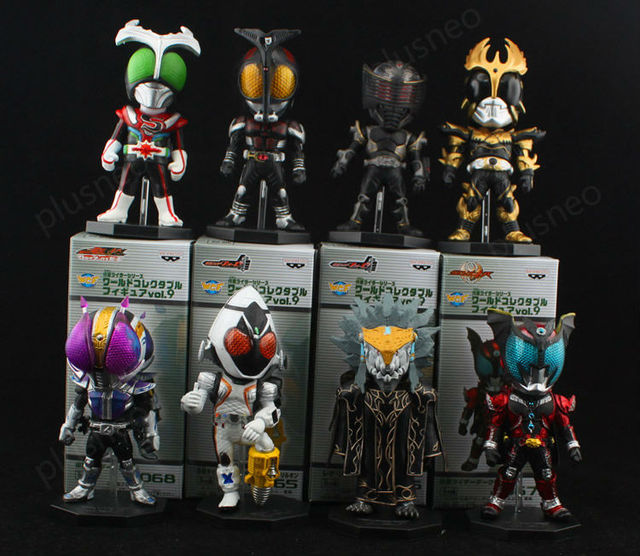 2013 NEW ARRIVAL  WCF Kamen Rider Masked Rider  RX anime toys  8pcs/set action figures  JP Collector's Edition  03 Free shipping