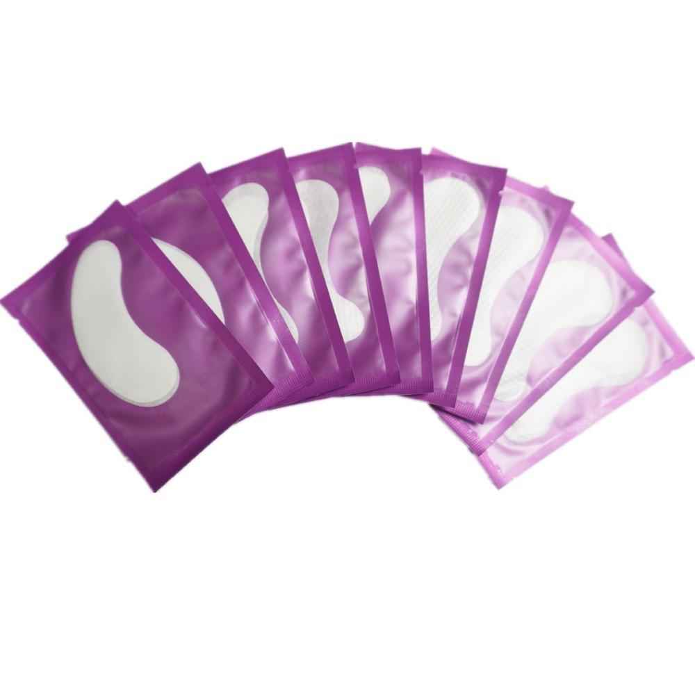 10 pairs/lot Wholesale Patches Eyelash Under Eye Pads Lash Eyelash Extension Paper Patches Eye Tips Sticker Wraps Make Up Tools(China (Mainland))