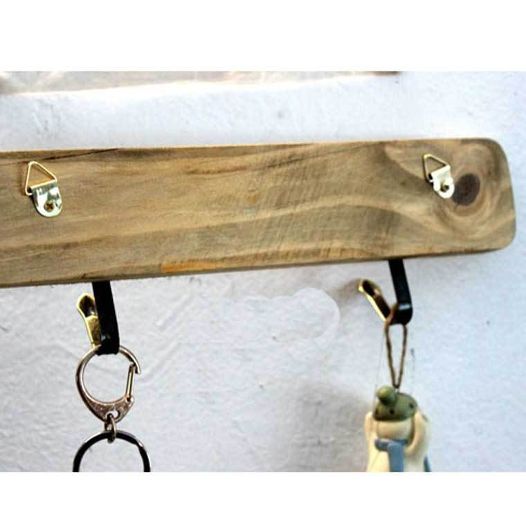 zakka wood decorative wall hooks to hang keys diy old era style coat hooks in wood crafts from. Black Bedroom Furniture Sets. Home Design Ideas