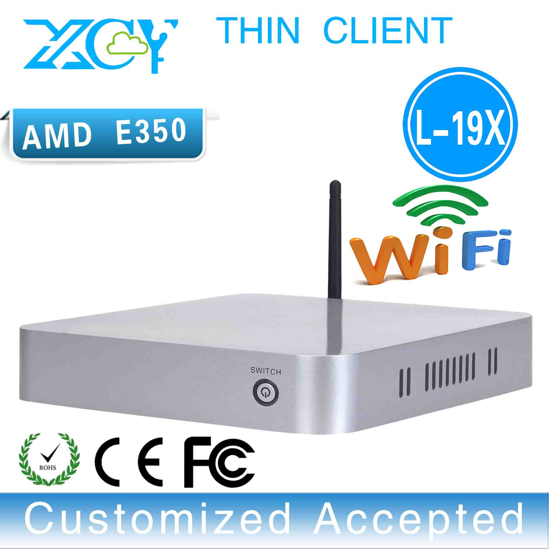 XCY L-19x windows 7 thin client mini pc support youtube, mesenger, skype, video call(China (Mainland))