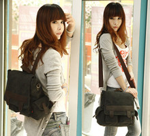 vintage canvas backpack shoulder bags multi-purpose more color school bags(China (Mainland))