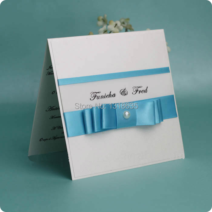 Designer card white wedding invitations gifts for bride and groom childrens party supplies(China (Mainland))