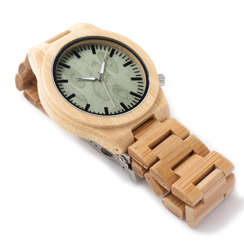 БОБО ПТИЦА Марка Дизайнер B22 Watch Мягкий Бамбук Дерево Ремни кварцевые Часы Естественный Стиль, Как Лучший Подарок Для Мужчин Женщин