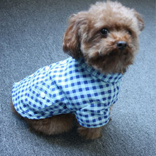 Buy Pet Dog Clothes Small Dogs Coat Spring Autumn Plaid Shirt Leisure Puppy Sweatshirt Teddy Chihuahua Costume Clothing Apparel for $2.89 in AliExpress store