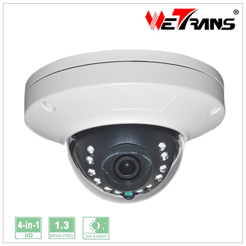 Small Metal Vandalproof Housing Dome Camera Style 4 in 1 HD CCTV Dome Camera Support AHD/CVI/TVI/CVBS(China (Mainland))