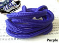 2015 Fashion walking boot laces round rope shoe lace for basketball shoes colored shoe strings for