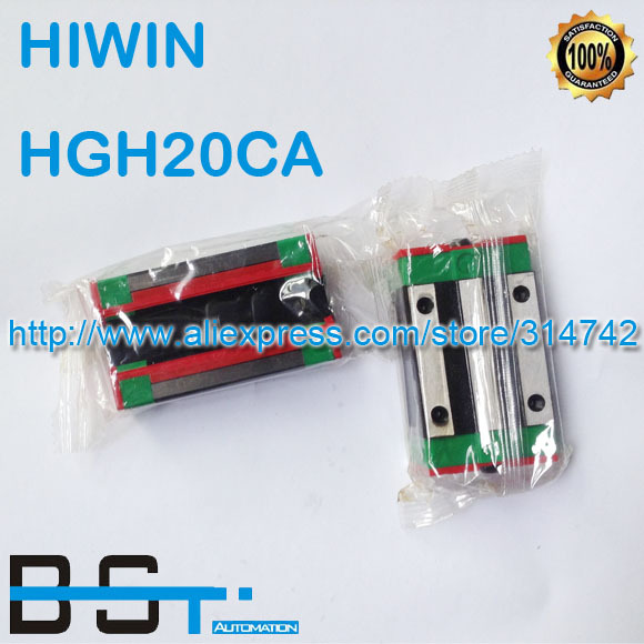 New Original HIWIN Linear rail carriage HGH20CA # match with HGR20 Guideway(China (Mainland))