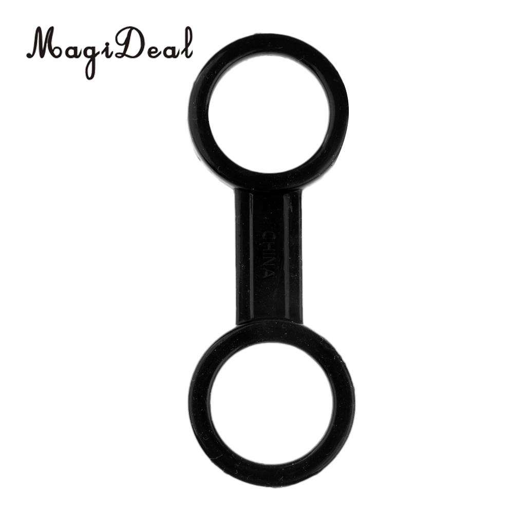 MagiDeal Hot 1Pc Scuba Diving Dive Silicone Snorkel Mask Strap Keeper Clip Holder Retainer Snorkeling Gear Equipment Acce Black