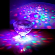 New RGB LED Underwater Light Show LED Disco Ball pour piscine étang Spa bain à remous AquaGlow Light pour Bar parti(China (Mainland))