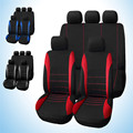 Universal Car Seat Cover 9 Set Full Seat Covers Car Interior Accessories for Car Care Cover