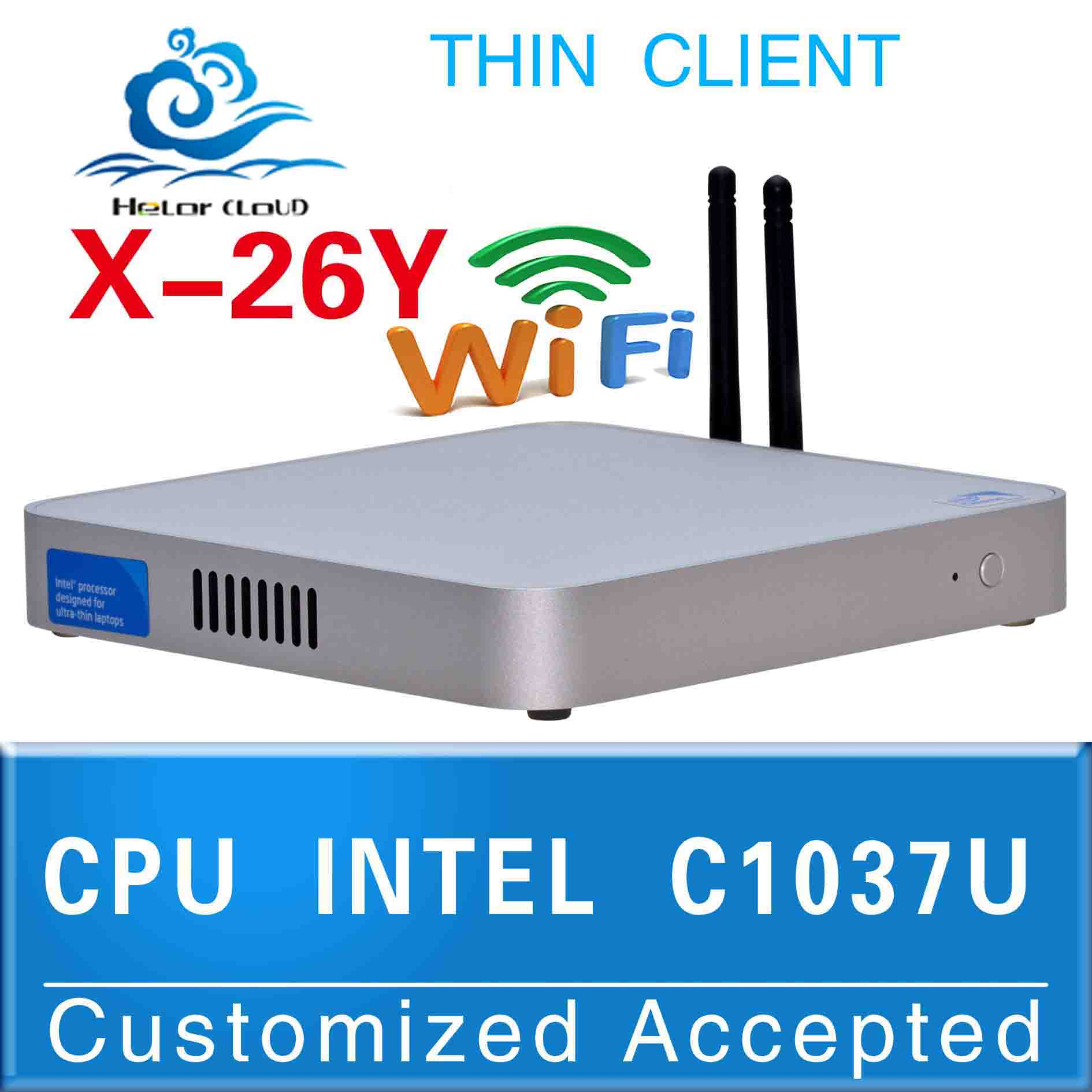 Cheap!!Mini pc linux server Celeron 1037U (1.8GHZ Frequency) Dual-core computer case support windows XP or Vista or 7(China (Mainland))