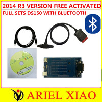 good quality ds150e cdp pro plus 3 in1 Bluetooth function 2014 r3 version full sets selling