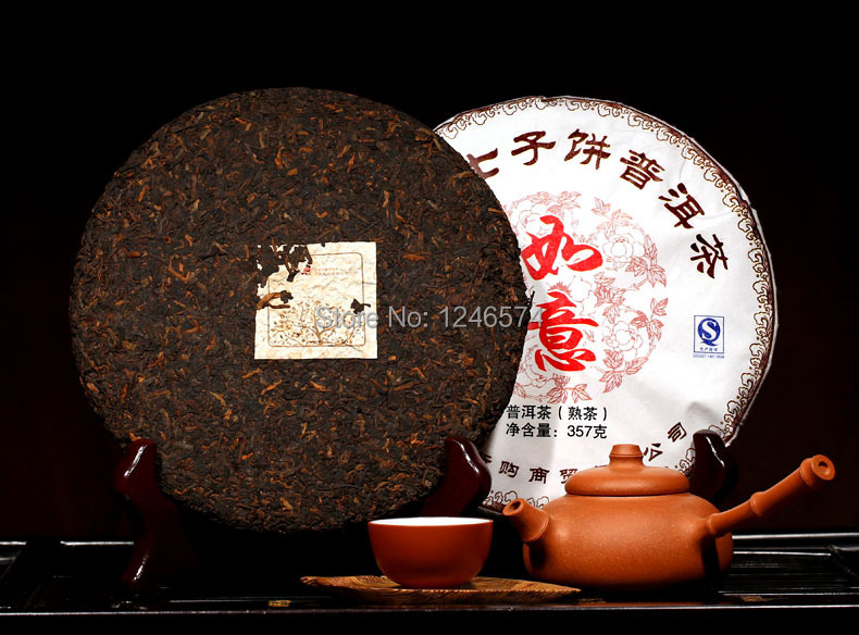Promotion old 357g Chinese Yunnan puerh puer tea the china naturally organic match health care pu