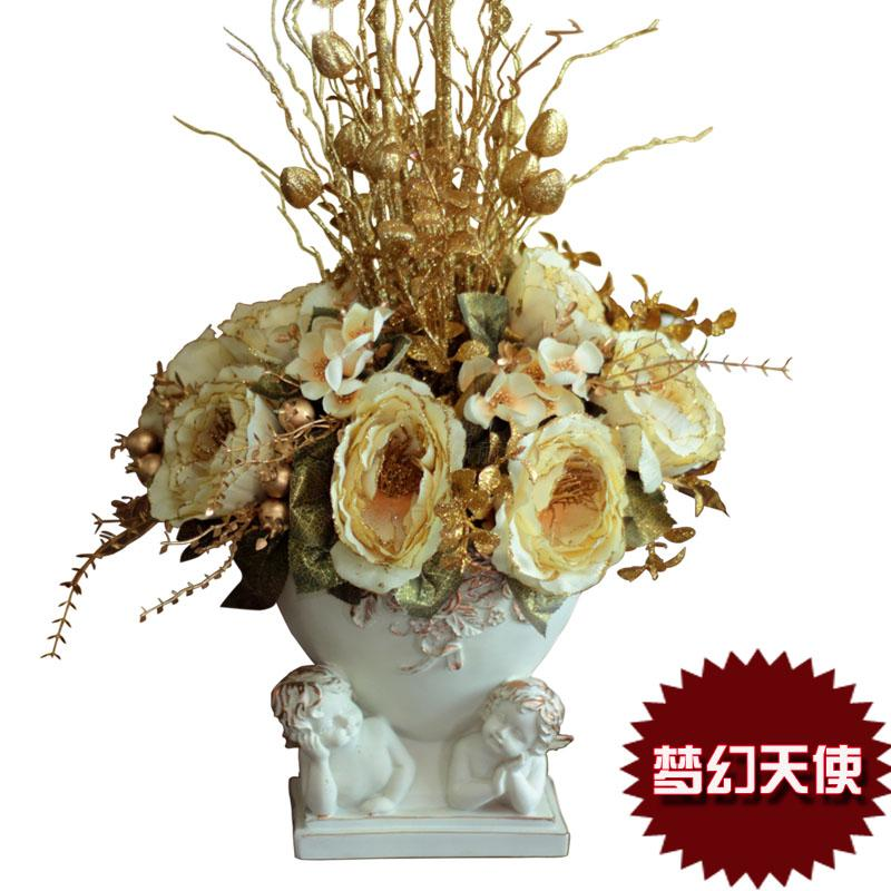 Dream fashion floor set bowyer artificial flowers dried vase home - newlly liu's store
