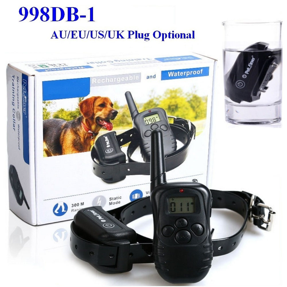 Waterproof and Rechargeable Electronic Shocking Vibration Remote Dog Training Collars Electric Pet training collars Pet Trainer(China (Mainland))