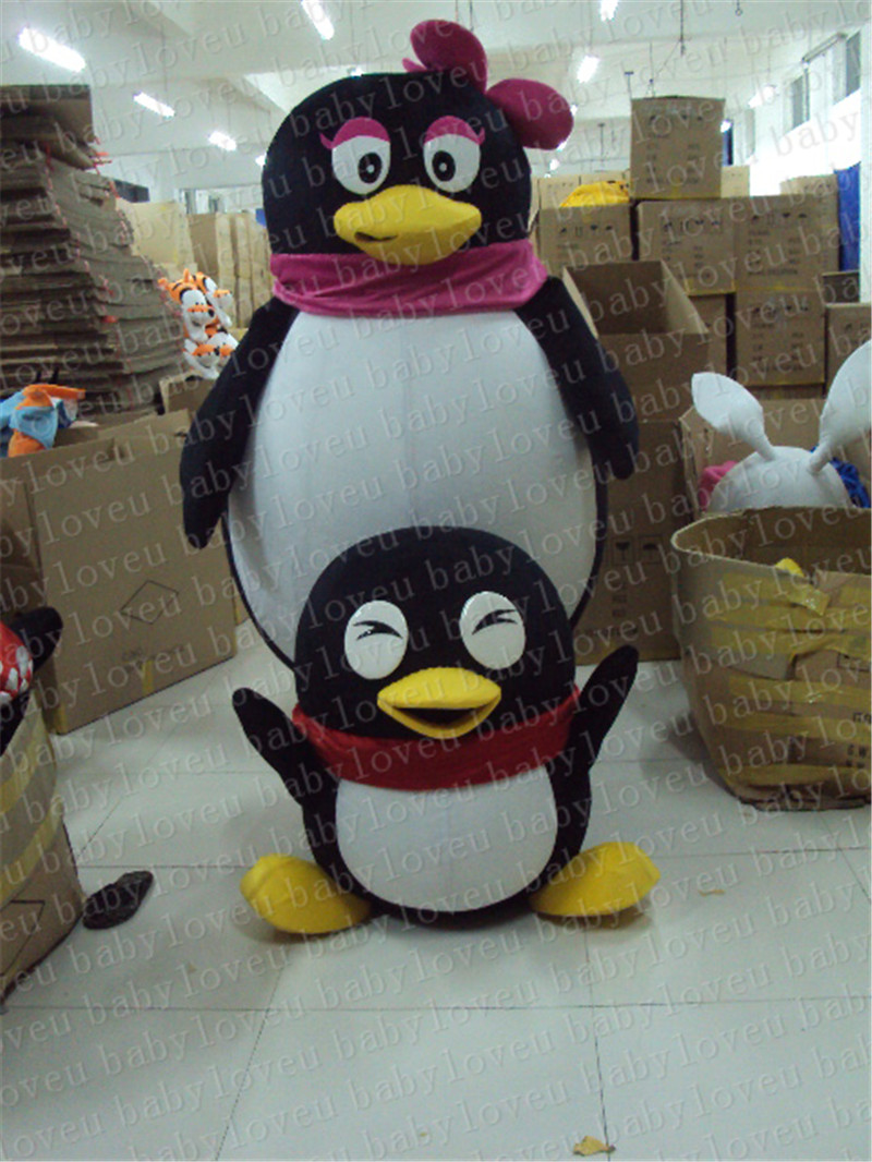 high quality penguin mascot costume halloween costumes party costume dinosaurs fancy dress christmas kids gift surprise
