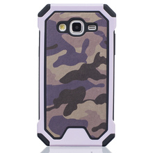 phone cases For Samsung Galaxy G530 Camouflage 2 in 1 PC+TPU Protective Back Cover Case newest case for galaxy grand prime g530(China (Mainland))