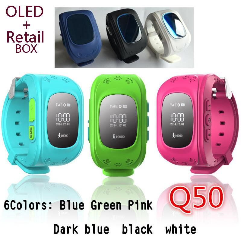 GPS Tracker Watch For Kids SOS Emergency Anti Lost GSM Smart Mobile Phone App Bracelet Wristband Alarm for Android iOS(China (Mainland))