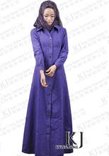 2015 new long-sleeved Muslim long dress abaya in Dubai Middle East clothing Arab-Islamic women's robes islam malaysia 15033009(China)