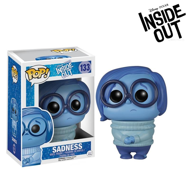 2016 NEW FUNKO POP Inside Out Action Toy Figures Sadness Doll POP FUNKO Vinyl figures Collection Toys kids toys