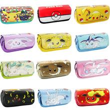 Cartoon anime stationary Pokemon Pikachu & Minecraft & Dragon Ball & Fairy tail &Totoro pen bag / pencil case/Pen Zipper Bag(China (Mainland))