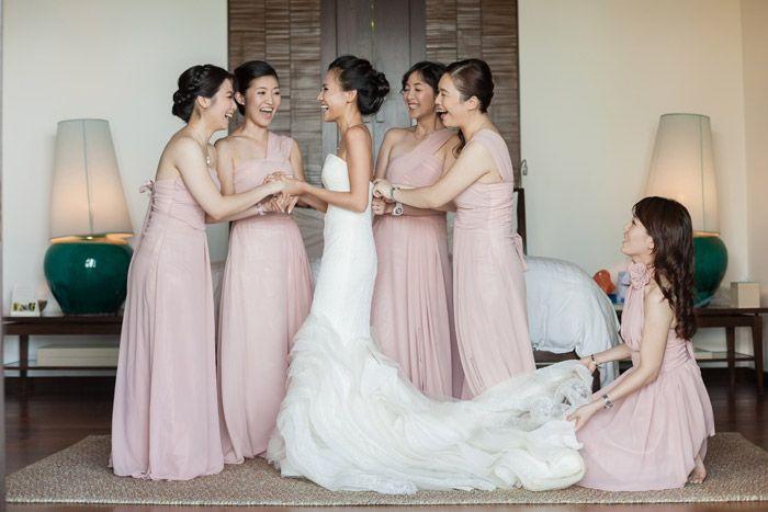 Elegant Wedding Dress Up Games : Aliexpress buy long elegant bridesmaid dress light