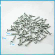304 stainless steel screws / flat head Phillips self-tapping screws / countersunk head self tapping screws /(China (Mainland))