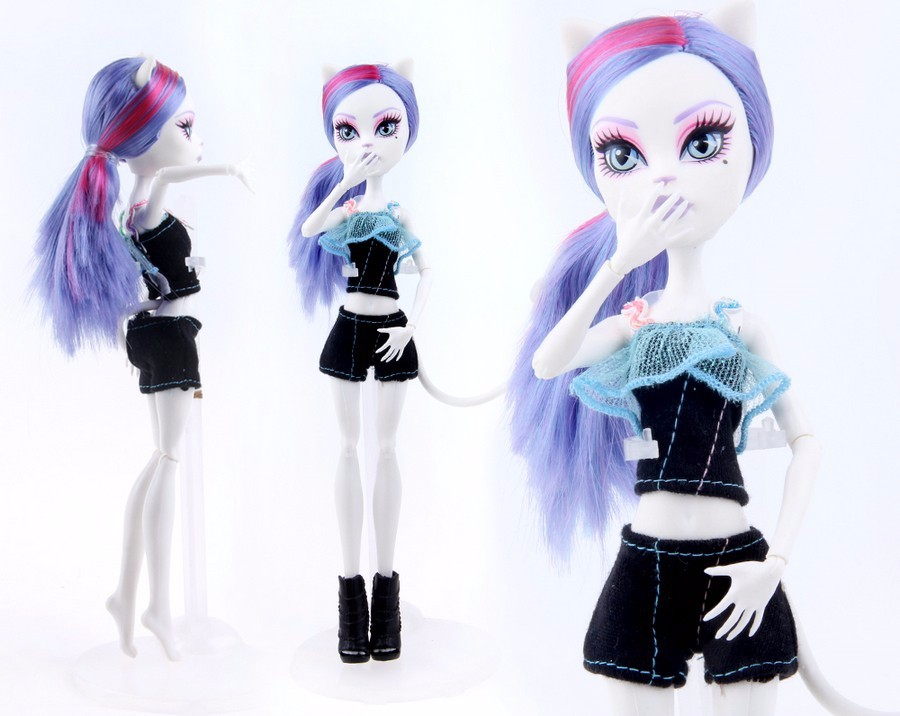 New Arrival Handmade Cortical Clothes & Sportswear Fashion Dress for Monster High Doll & For Barbie Doll & BJD Dolls