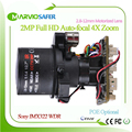 Full HD 1080P IP camera CCTV modules PTZ 2 8 12mm optical Zoom lens with RS485