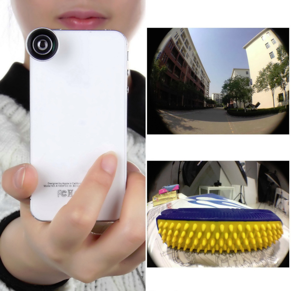 1 PCS 0.67X Wide Angle Macro Camera Lens for Mobile Phones for iPhone and Tablets New Free Shipping