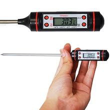 Heißer Verkauf neue Fleisch-Thermometer Küche Digitale Nahrungsmittelprüfspitzen-Elektronik BBQ Kochen Werkzeuge 7JPM(China (Mainland))