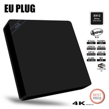 Buy I68 S912 Set-top Box Amlogic S912 Octa Core 1000Mbps LAN Dual Band WiFi TV Box Bleutooth 4.0 Android 6.0 4K*2K Media Player for $52.42 in AliExpress store