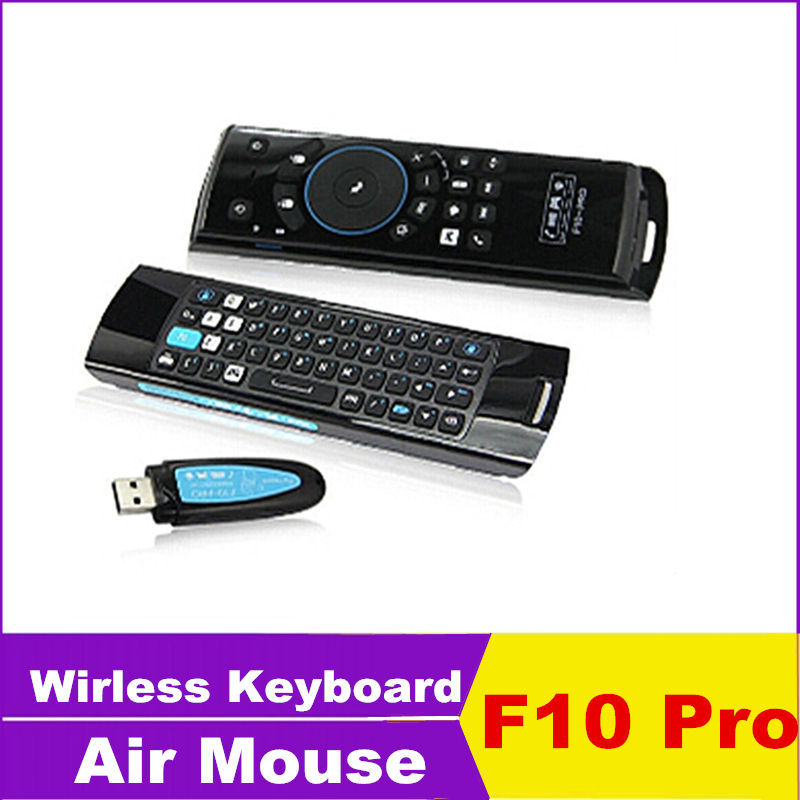 Freedom Pro Bluetooth Keyboard Android Driver: 2014 Hot Mini Wireless Keyboard Fly Air Mouse MELE F10 Pro Black Remote Controller For Android