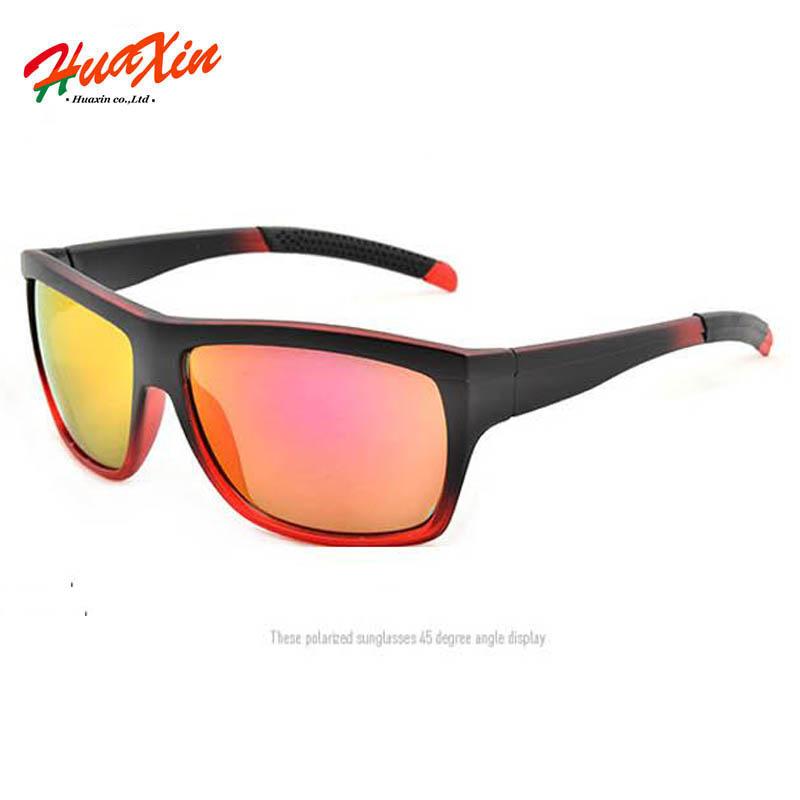 High quality New women Sunglasses Men Brand Gradient red Gafas oculos de sol masculino outdoor Sports Sun glasses women Eyewear(China (Mainland))